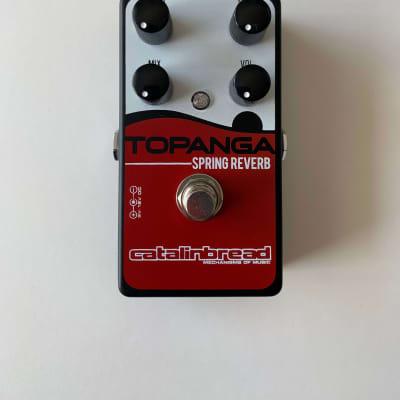 Catalinbread Topanga Black - Limited Edition Spring Reverb Guitar Pedal