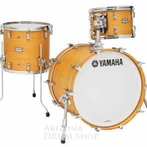 "Yamaha Yamaha Absolute Hybrid Maple 3pc w/ 20"" Bass Drum - Vintage Natural - NEW"