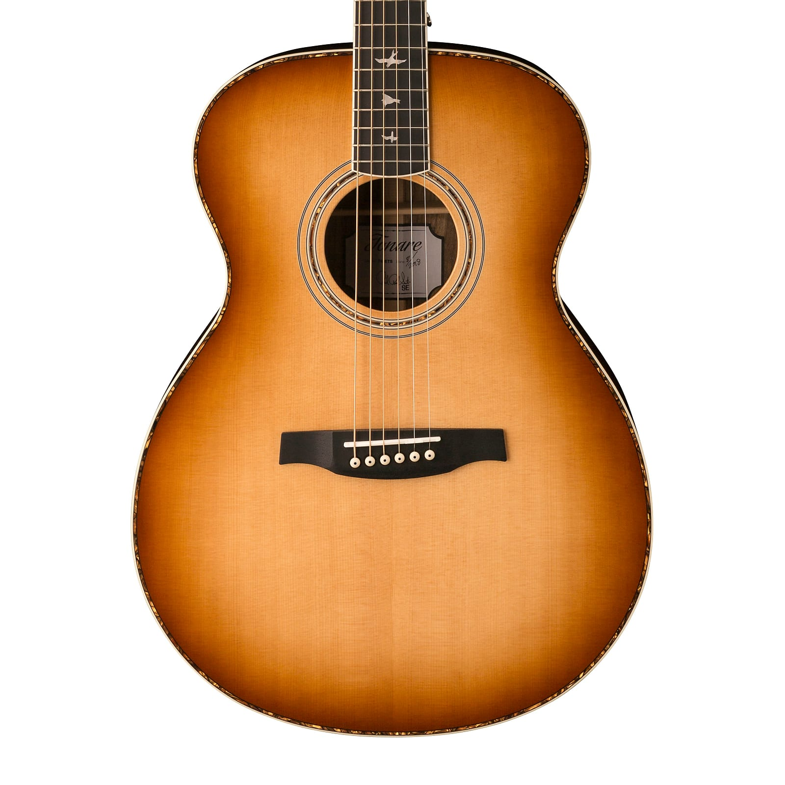 Paul Reed Smith PRS SE T40E Tonare Acoustic Electric Guitar Tobacco Sunburst w/