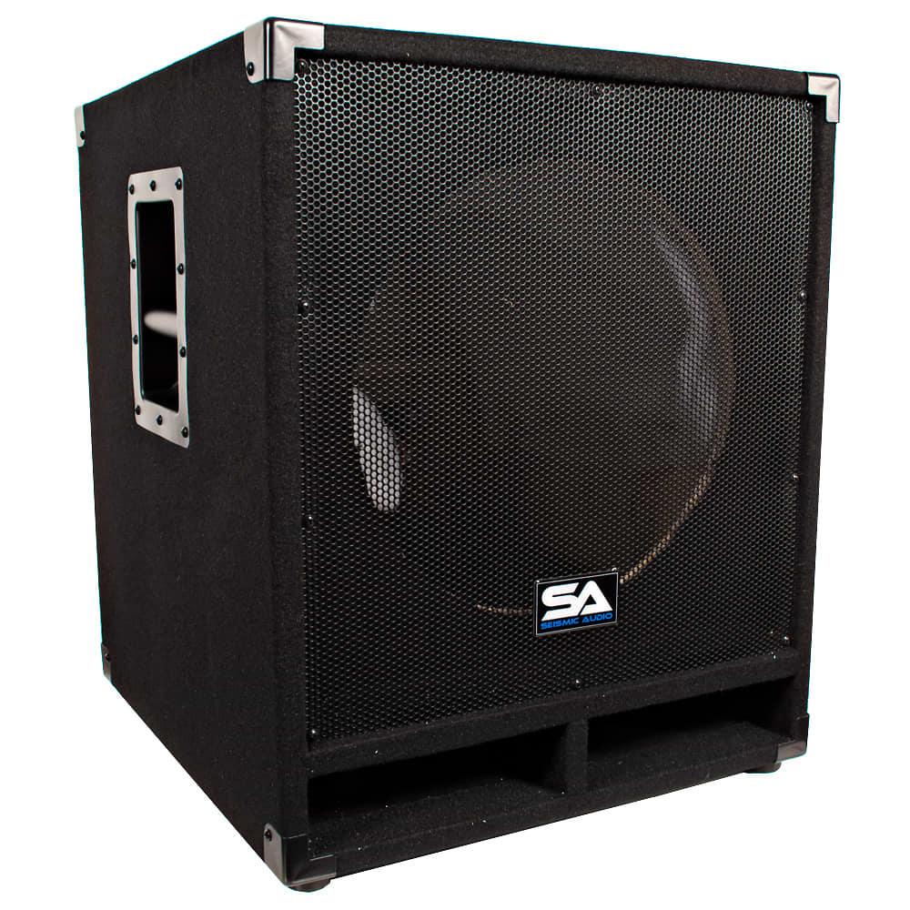 empty 15 inch pro audio subwoofer cabinet reverb. Black Bedroom Furniture Sets. Home Design Ideas