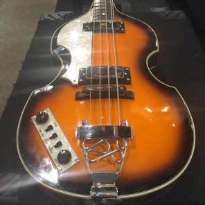 Jay Turser Viola Bass - left handed Sunburst for sale