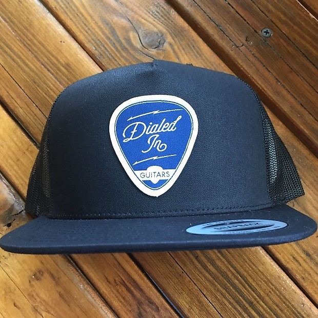 Dialed In Guitars Yupoong Flexfit Classic Trucker Snapback  a72ac956616