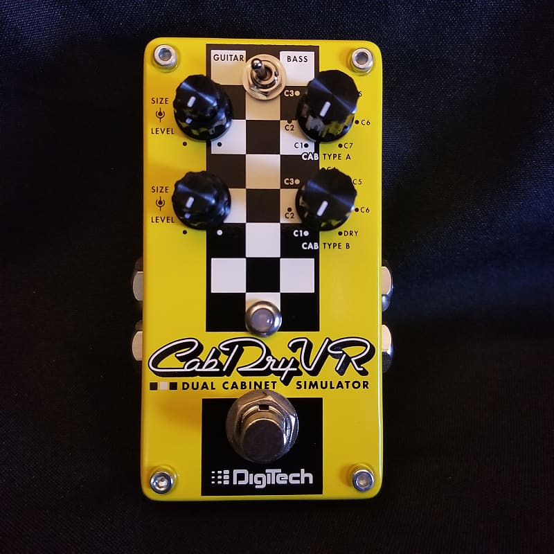 new digitech cabdryvr dual cabinet simulator guitar effects reverb. Black Bedroom Furniture Sets. Home Design Ideas