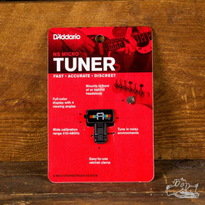 D'addario / Planet Waves NS Micro Headstock Tuner