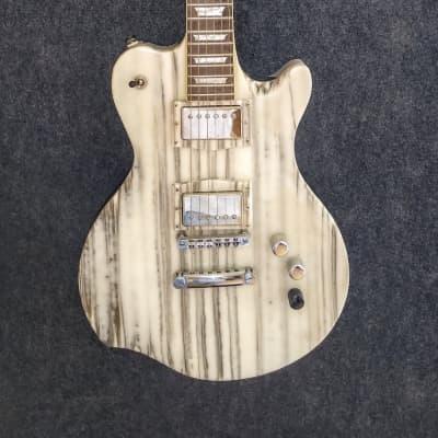 Occhineri Custom Guitar White Zebra for sale