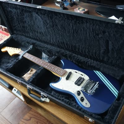 Fender Kurt Cobain Mustang Lake Placid Blue Left Handed Competition MIJ Japan