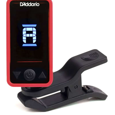 D'Addario Planet Waves Eclipse Headstock Tuner PW-CT-17RD Red