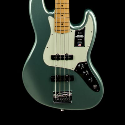 Fender American Professional II Jazz Bass - Mystic Surf Green #14025