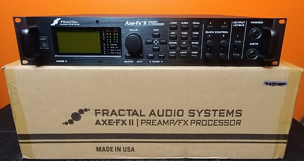 FRACTAL AUDIO AXE-FX II MARK II PREAMPLIFIER DRIVERS PC