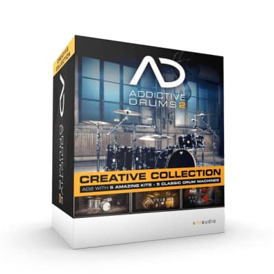 XLN Audio Addictive Drums 2 Creative Collection