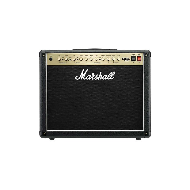 marshall dsl40cr 40w 1x12 tube guitar combo amp reverb. Black Bedroom Furniture Sets. Home Design Ideas