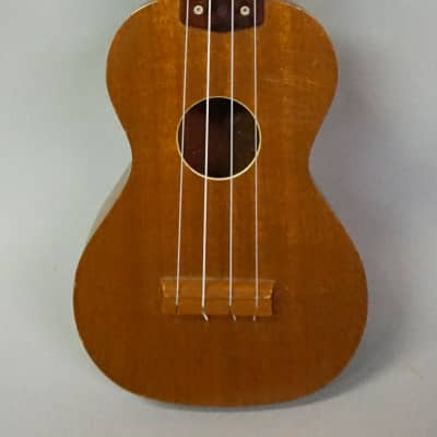 Vintage Roy Smeck  Vintage Soprano Ukulele in Natural Mahogany (1950's) for sale
