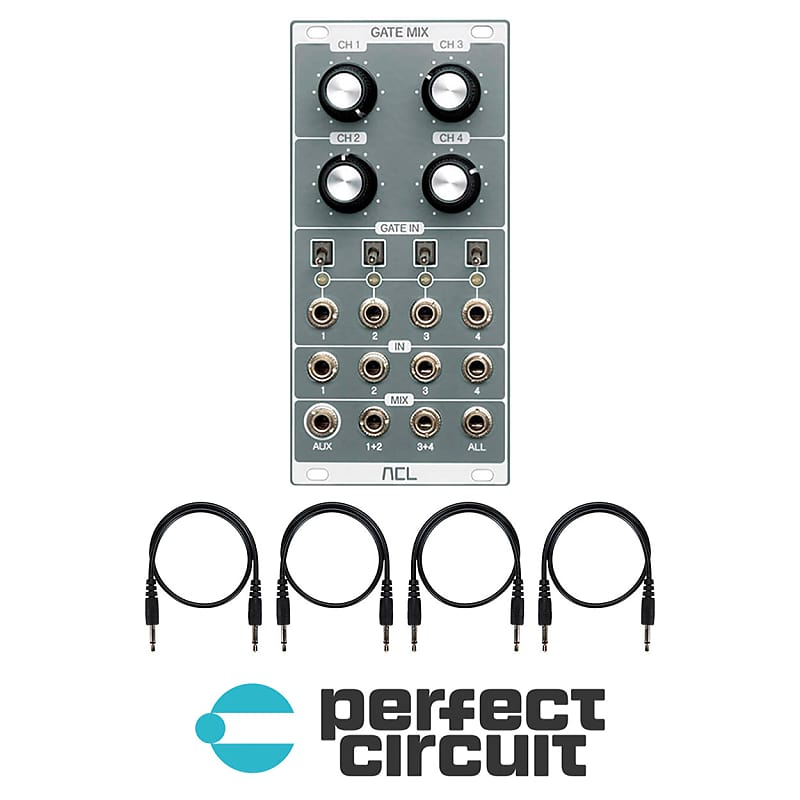 NEW ACL Gate Mix Gated Channel Mixer EURORACK PERFECT CIRCUIT