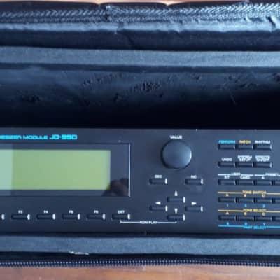 RARE! Roland Super JD-990 with M256A Card & Rockbag