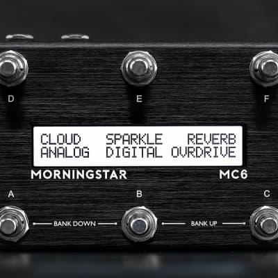 Morningstar Engineering MC6 MkII MIDI Foot Controller