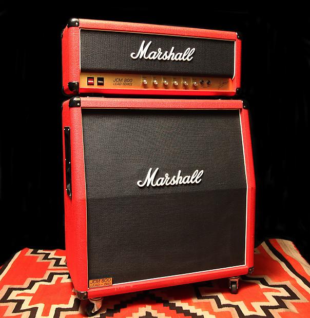 1980 39 s marshall jcm 800 red reverb. Black Bedroom Furniture Sets. Home Design Ideas