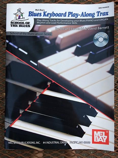 Mel Bay's Blues Piano & Organ Play-Along Tracks