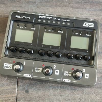 ZOOM G3 Guitar Multi Effects Pedal for sale