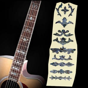 Fretboard Markers Inlay Sticker Decal for Guitar & Bass ,mysterious symbol