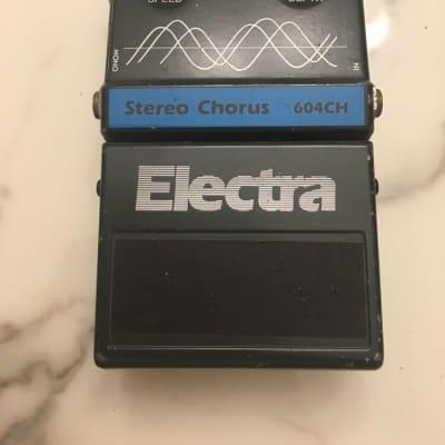 Electra 604CH Stereo Analog Chorus Rare Vintage Guitar Effect Pedal MIJ Japan