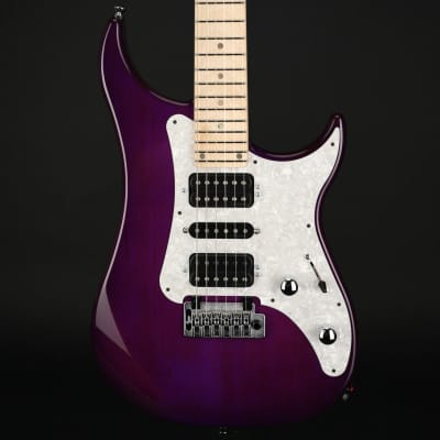 Vigier Excalibur Supra HSH, Maple in Clear Purple with Gig Bag #210161 for sale