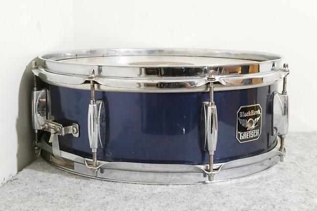 Gretsch BlackHawk 14 X 55 Snare Drum Blue