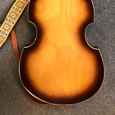 National Violin Bass  -  EG671-2HT    1968+-      Brown for sale
