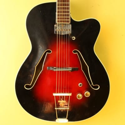 Hopf Spezial Archtop Electric Guitar 1960's Germany for sale