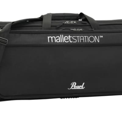 Pearl - malletSTATION bag, soft side padded sleeve with accessory pouch - PSCEM1B