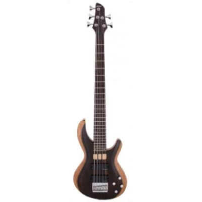 Aria IGB 50 WALNUT 5 Electric Bass, Walnut 5 String for sale