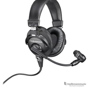 Audio-Technica BPHS1-XF4 Broadcast Communications Headset