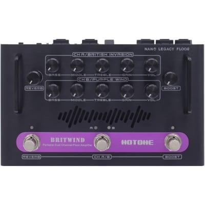 Hotone Nano Legacy BritWind Floor Amp for sale