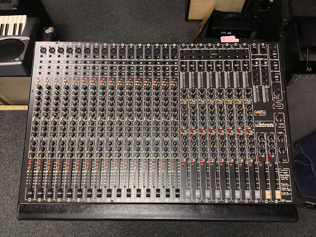 Studio Master Mixdown 16 8 16 1990s Mixer Used Reverb
