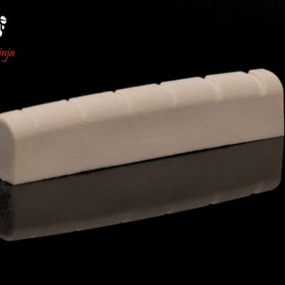 Tone Ninja Slotted Nut for Gibson, White USA Made TN-NUT-004-W1 fits Jackson, BC Rich, Dean