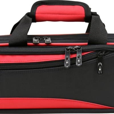 Lightweight Hardshell Flute Case, Red