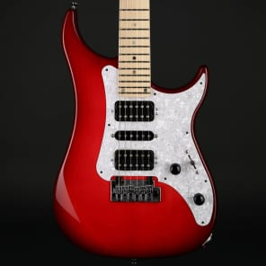 Vigier Excalibur Supra in Clear Red, Maple Neck with Hard Case #170044 for sale