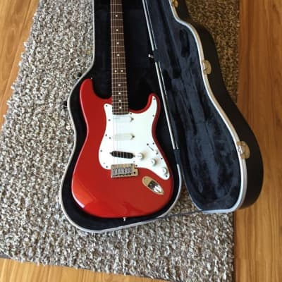Fender  Strat Plus  1990 Red for sale