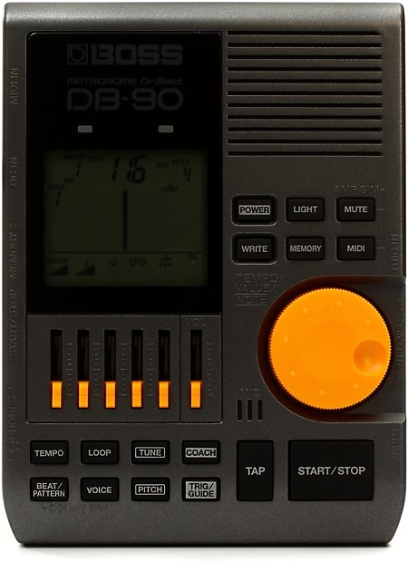 boss db 90 dr beat metronome with tap tempo gearnuts reverb. Black Bedroom Furniture Sets. Home Design Ideas