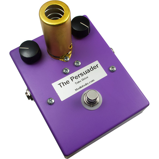 kit the persuader tube drive effects pedal mod reverb. Black Bedroom Furniture Sets. Home Design Ideas