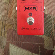 MXR Dyna Comp Block Logo