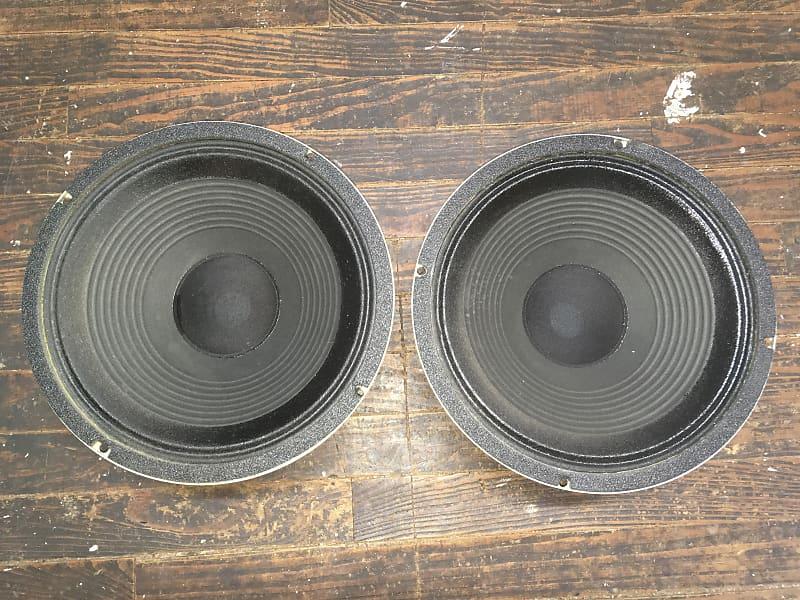 celestion g12s 50 16ohm 12 guitar speakers pair reverb. Black Bedroom Furniture Sets. Home Design Ideas