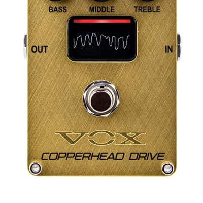 Vox Copperhead Overdrive Pedal with NuTube VECD