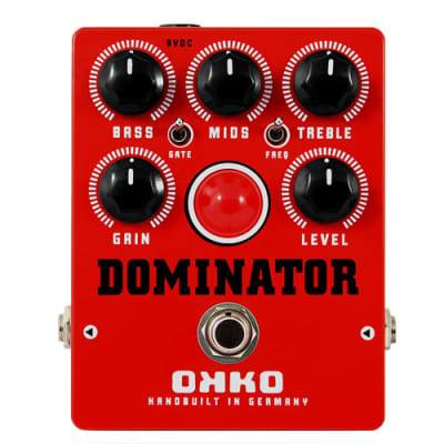 OKKO Dominator MKII Red Distortion for sale
