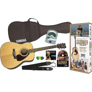 Yamaha Gigmaker Standard Acoustic Guitar Pack Natural