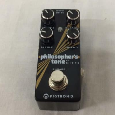 Pigtronix Philosopher's Tone Micro Compressor Sustainer Pedal Customer Return