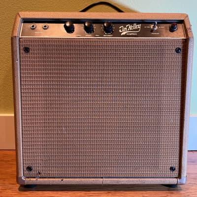 Jim Kelley 30/60 Amplifier c1980 light tan for sale