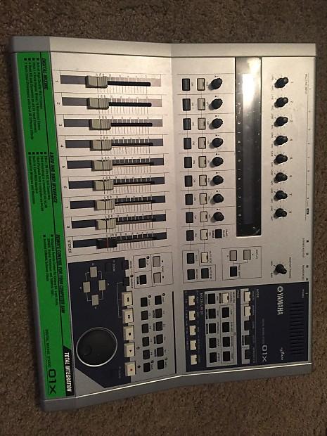 yamaha 01x. yamaha 01x digital mixing station w/ extras 01x
