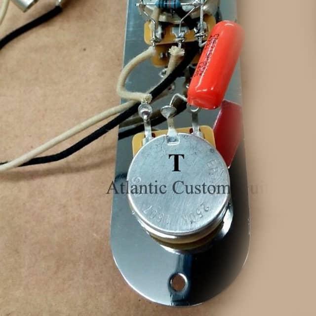 Atlantic Custom Guitars - New Premium Telecaster 4 way Wiring ...