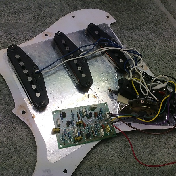 Fender Powerhouse Stratocaster Pickguard Harness / embly on