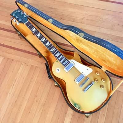Gibson Les paul deluxe c 1970 Goldtop original vintage w case